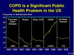 copd is a significant public health problem in the us