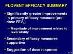 flovent efficacy summary