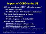 impact of copd in the us