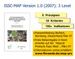 issc map version 1 0 2007 3 level