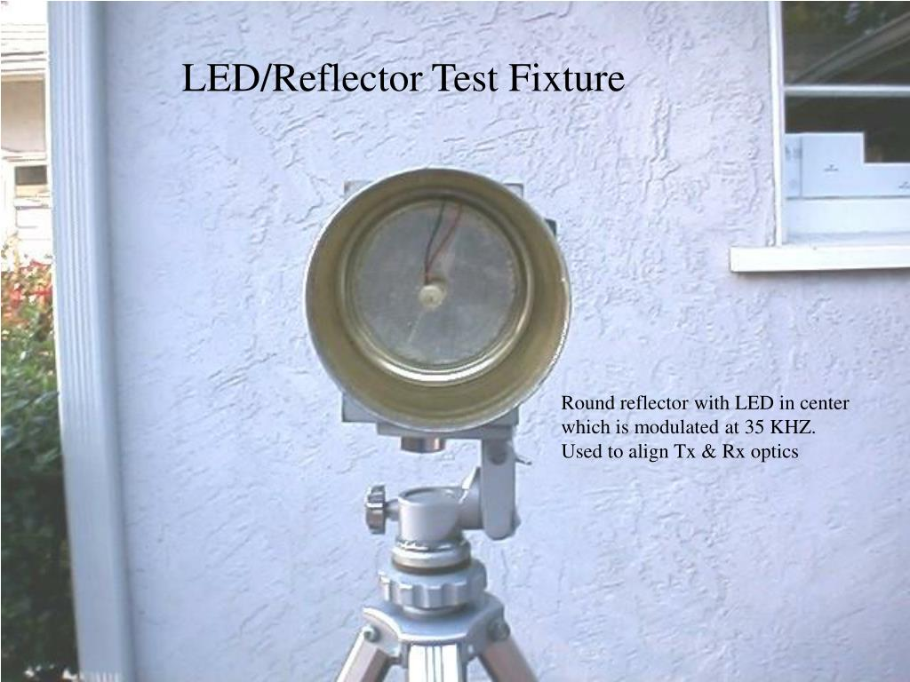 LED/Reflector Test Fixture