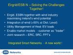 eirgrid esb n solving the challenges together