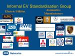 informal ev standardisation group