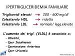 ipertrigliceridemia familiare