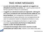 take home messages23