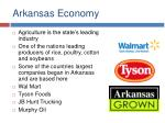 arkansas economy