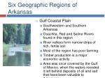 six geographic regions of arkansas12