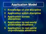 application model12