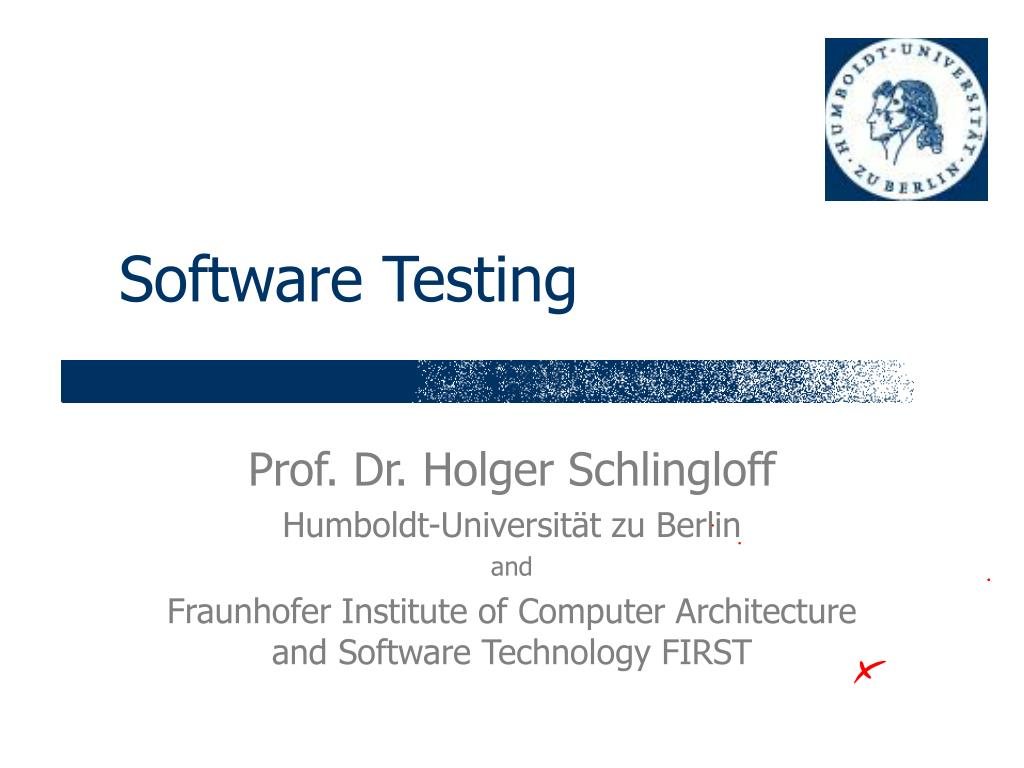 software testing l.