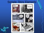 sample story elements
