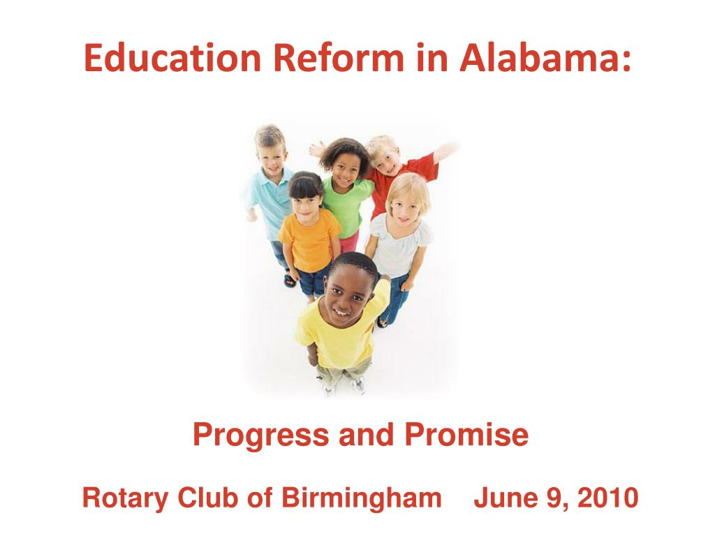 education reform in alabama l.