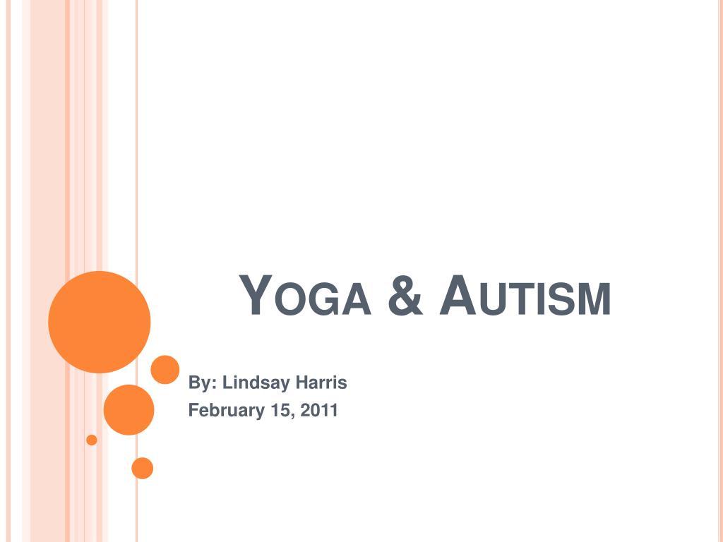 yoga autism l.