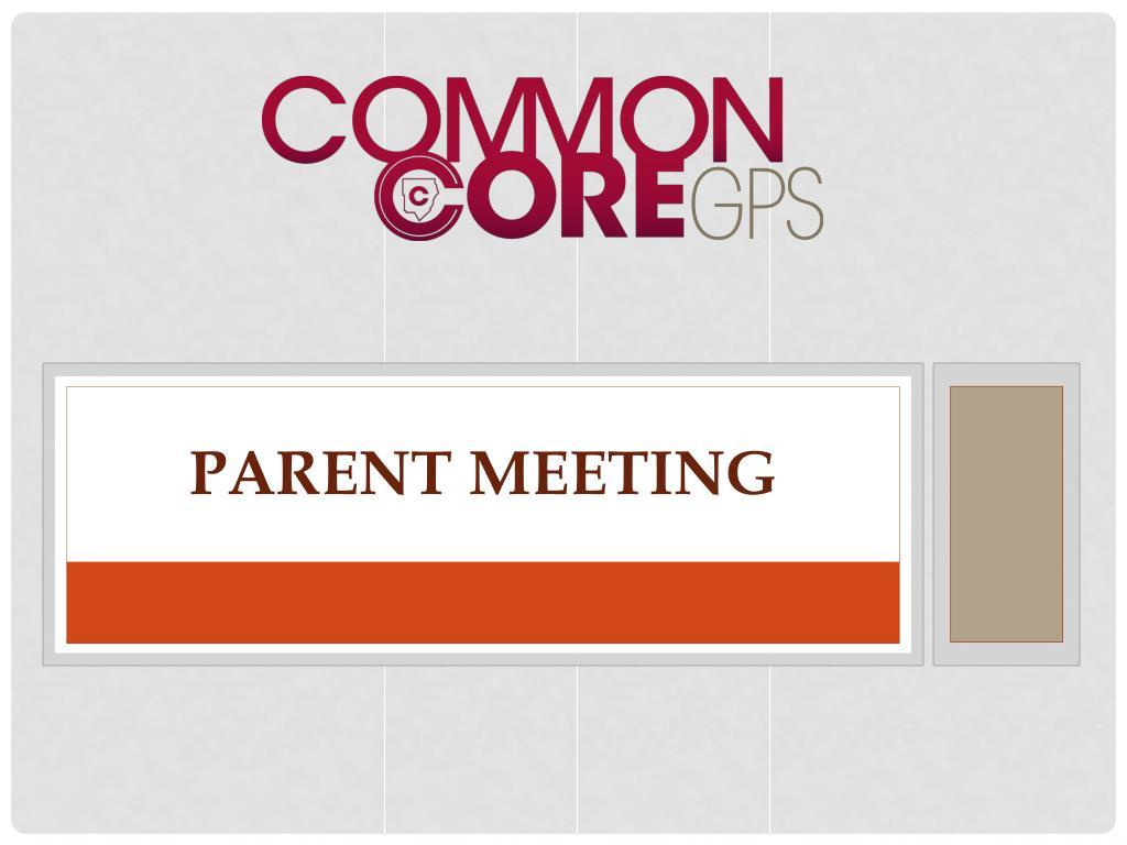 parent meeting l.