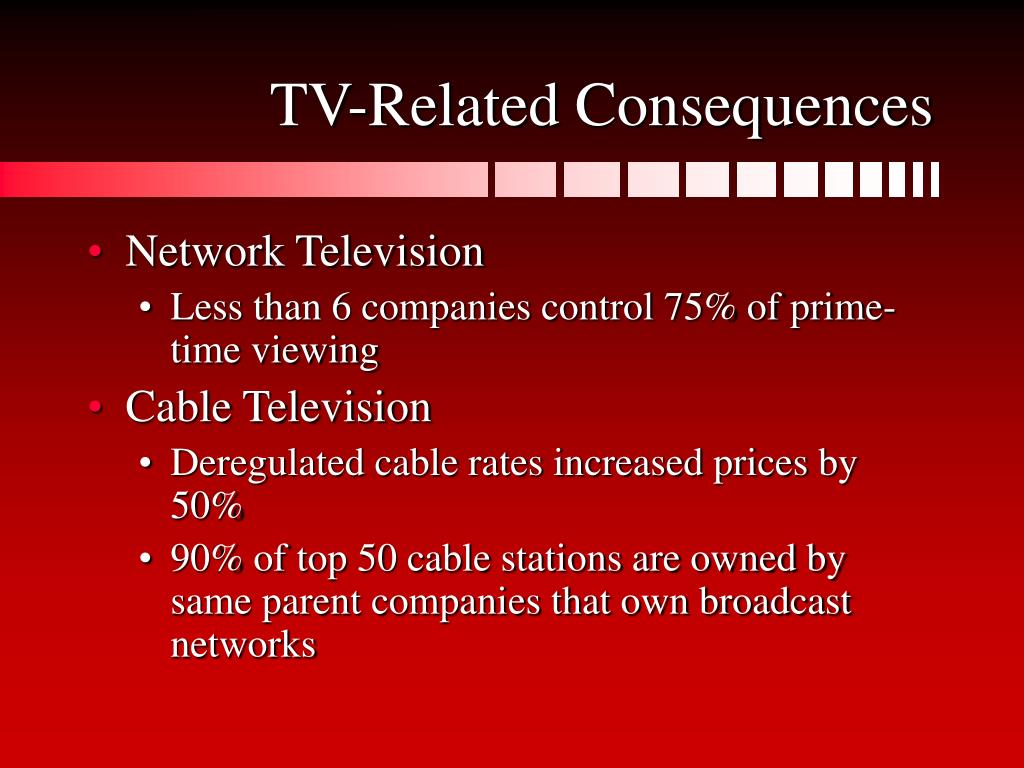 TV-Related Consequences