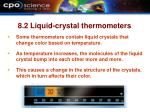 8 2 liquid crystal thermometers