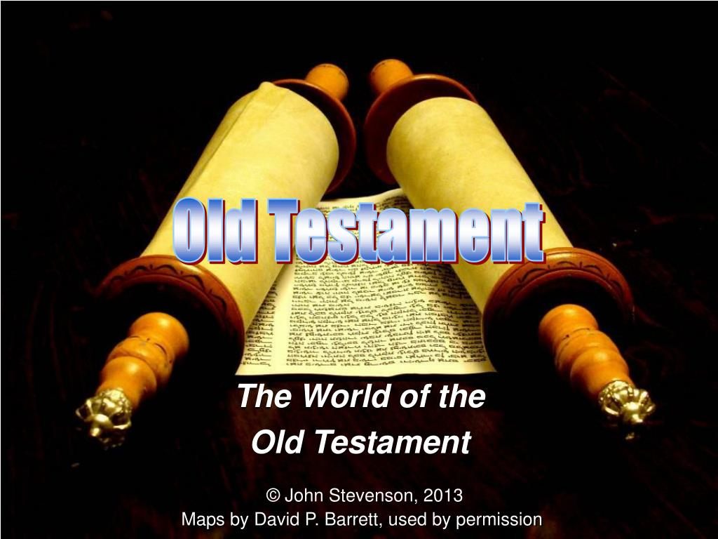 the world of the old testament l.