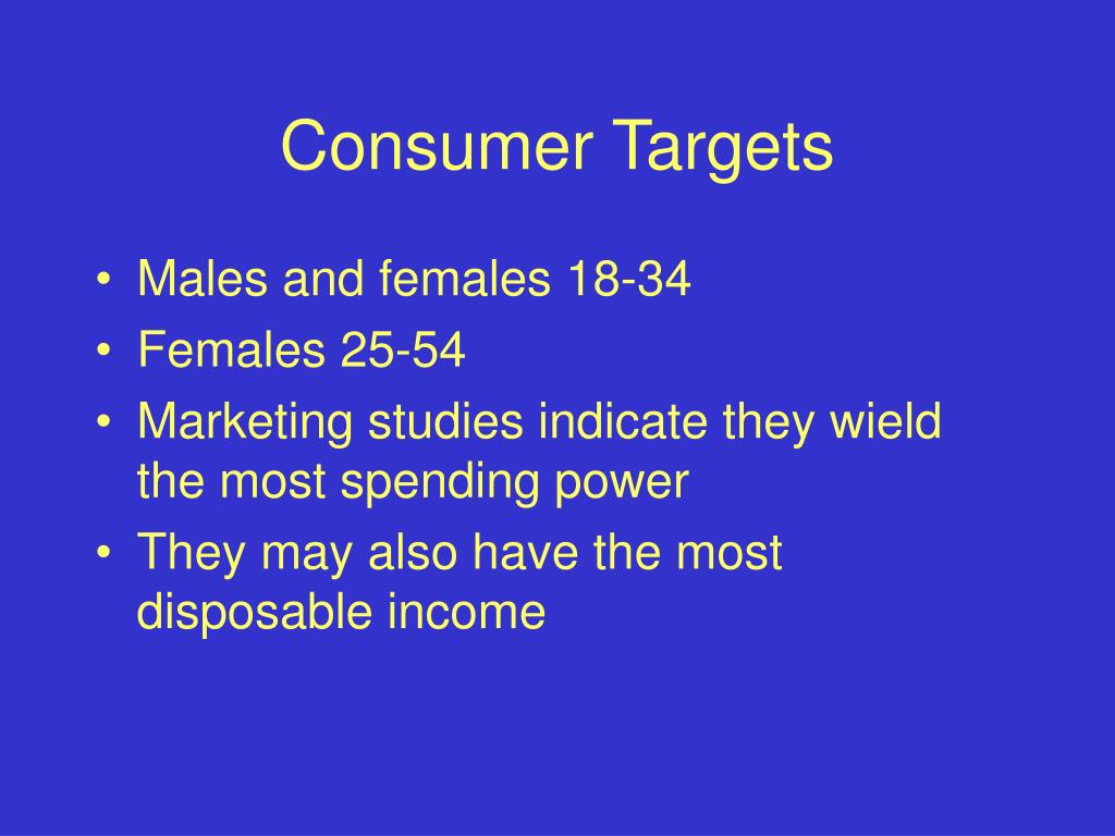 Consumer Targets