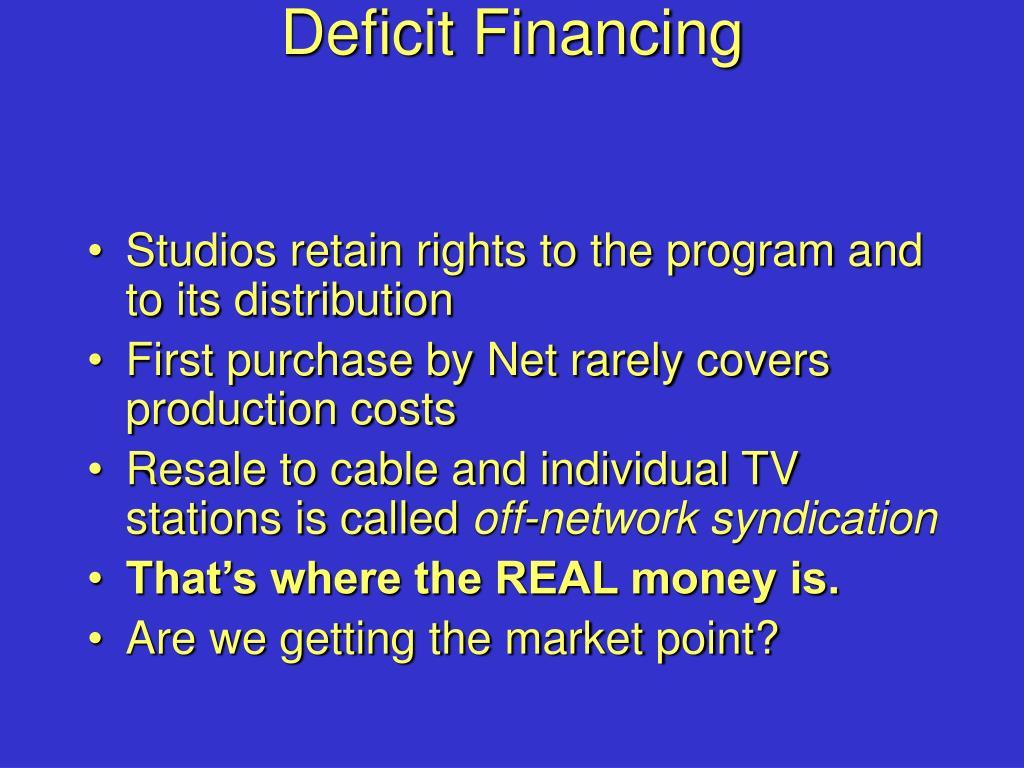 Deficit Financing