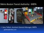 metro boston transit authority mbta9
