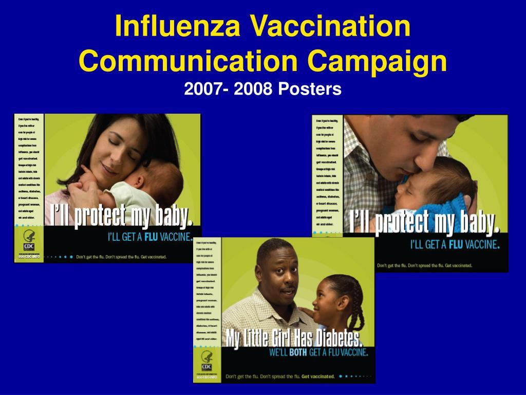 Influenza Vaccination Communication Campaign