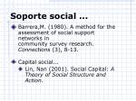 soporte social