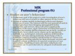 m ik professional program 9