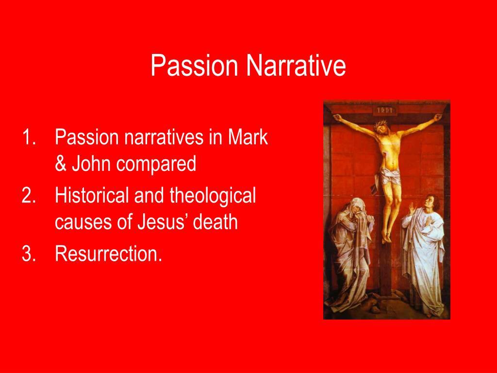 passion narrative l.