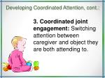 developing coordinated attention cont18
