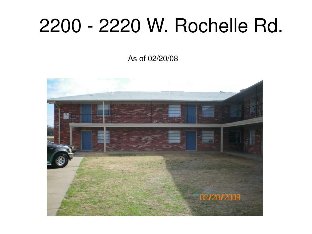 2200 - 2220 W. Rochelle Rd.