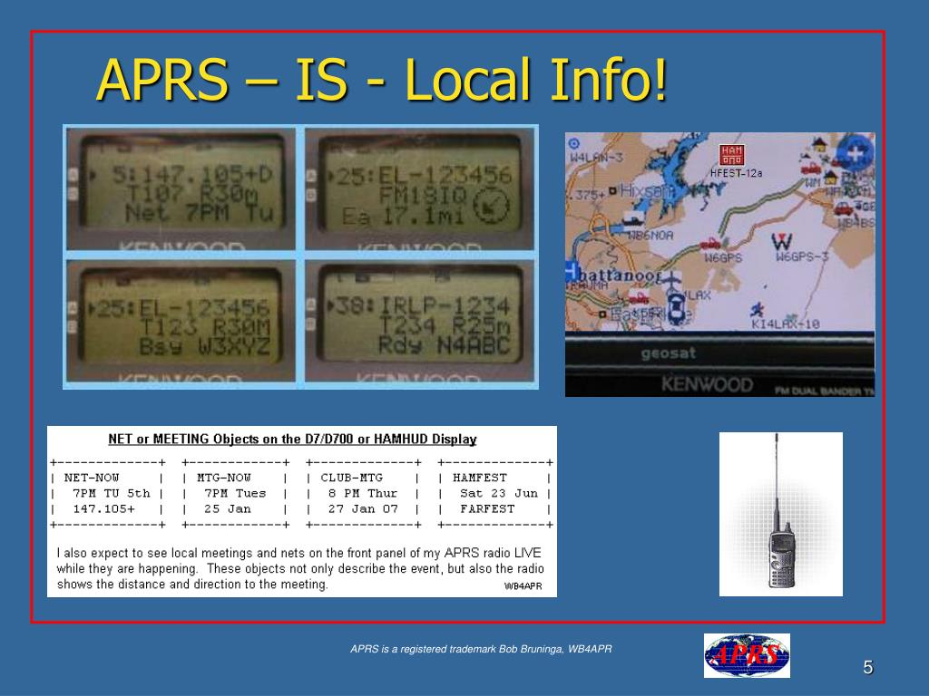APRS – IS - Local Info!