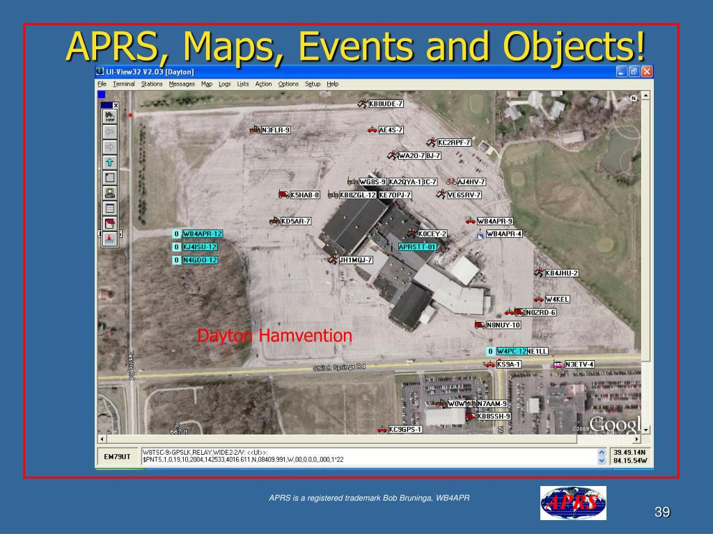 APRS, Maps, Events and Objects!