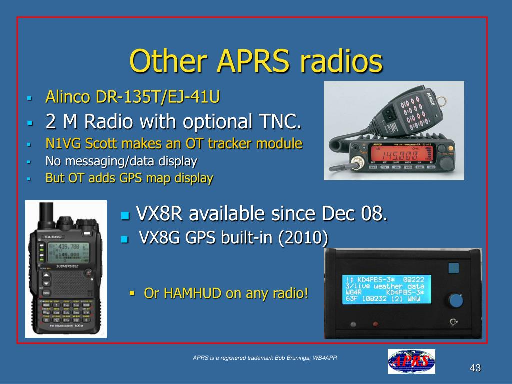 Other APRS radios