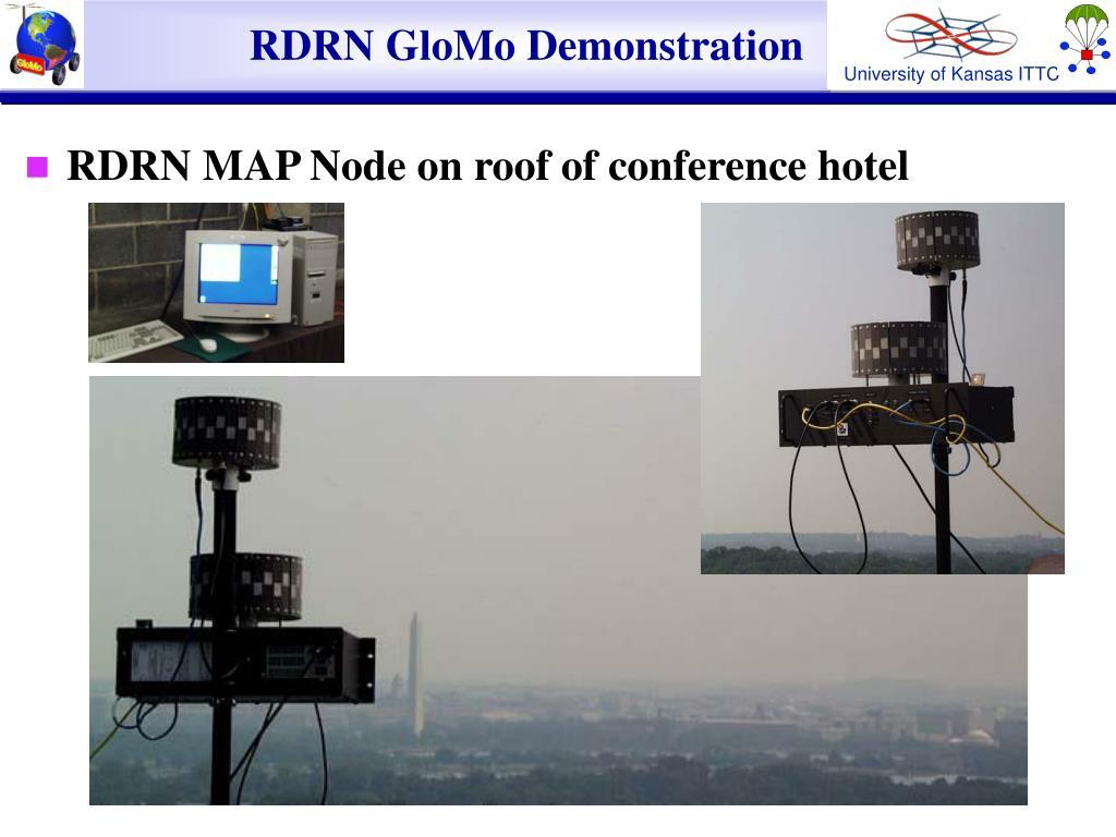 RDRN GloMo Demonstration