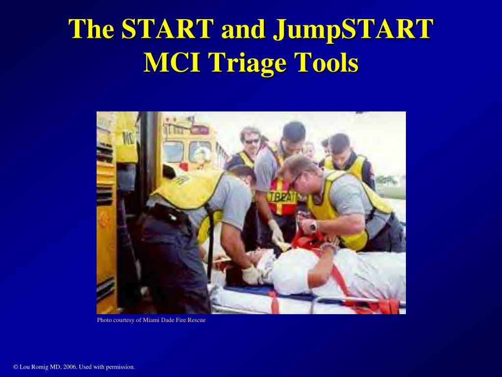 the start and jumpstart mci triage tools l.
