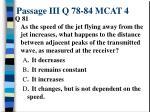passage iii q 78 84 mcat 410