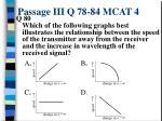 passage iii q 78 84 mcat 49