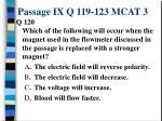 passage ix q 119 123 mcat 32