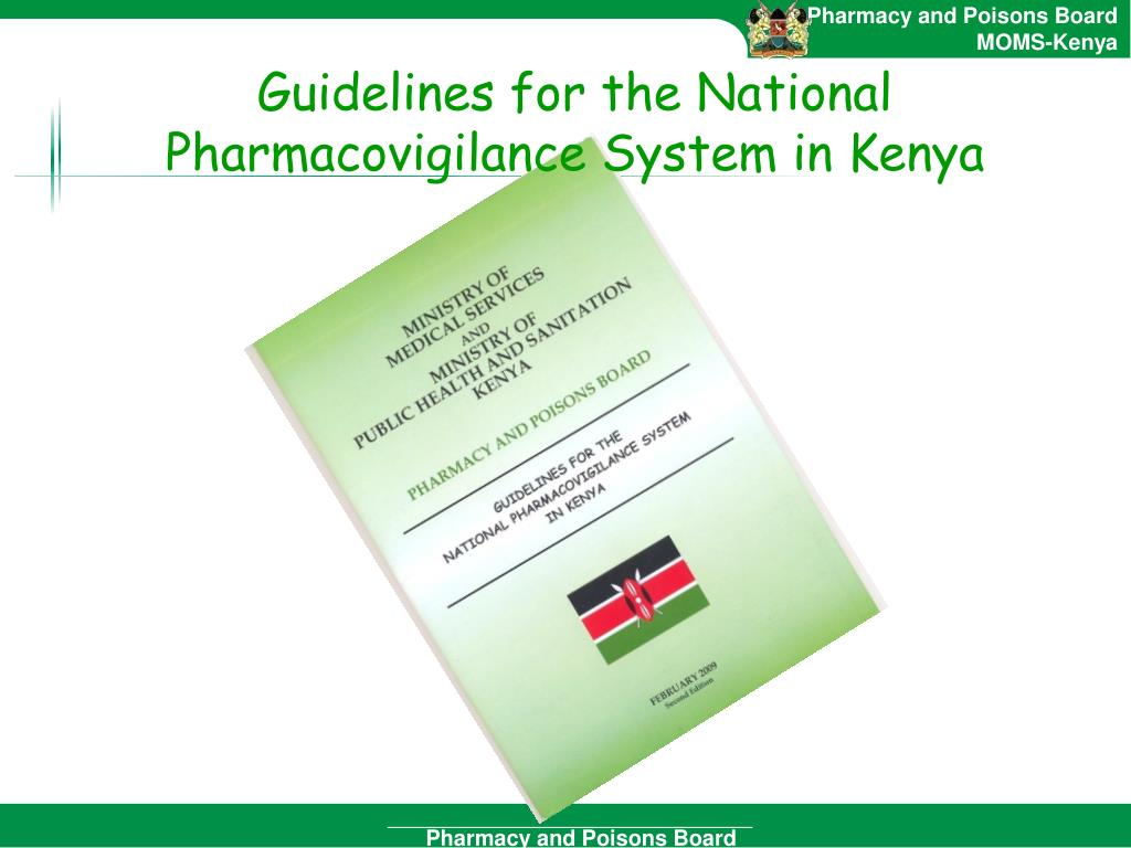 PPT - Pharmacovigilance in Kenya PowerPoint Presentation