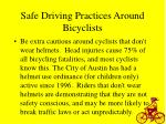 safe driving practices around bicyclists20