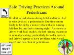 safe driving practices around pedestrians40