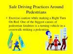 safe driving practices around pedestrians50