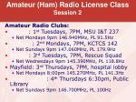 amateur ham radio license class session 214