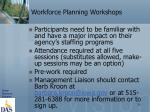 workforce planning workshops1