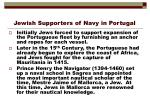 jewish supporters of navy in portugal