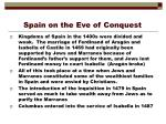 spain on the eve of conquest