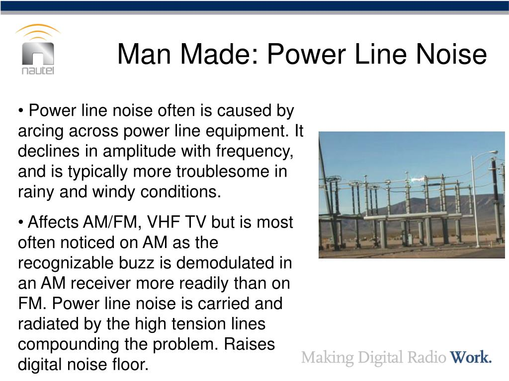Man Made: Power Line Noise