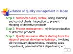 evolution of quality management in japan