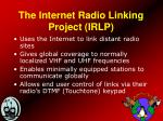 the internet radio linking project irlp