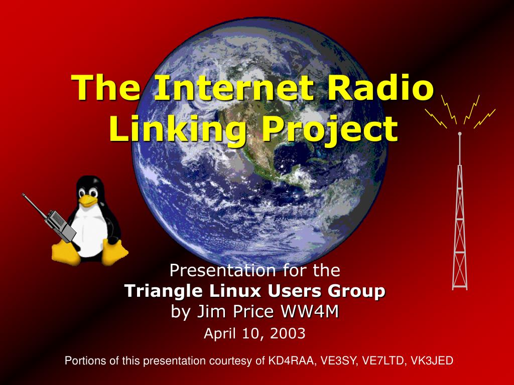 the internet radio linking project l.