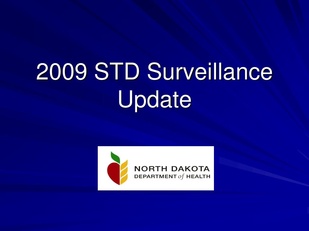 2009 std surveillance update l.